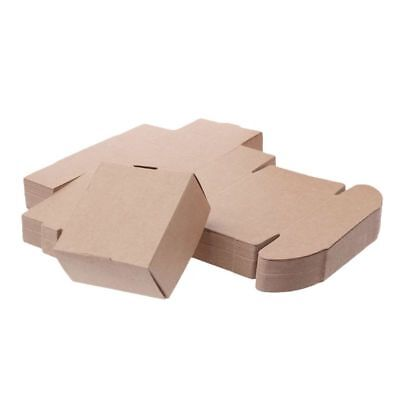 Brown Kraft Paper Box for Party Small Gift Wedding Favors Candy Jewelry - Small Wedding Favour Boxes