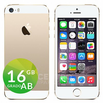 APPLE IPHONE 5S GOLD 16GB ORIGINALE ACCESSORI GARANZIA SPEDIZIONE GRATUITA