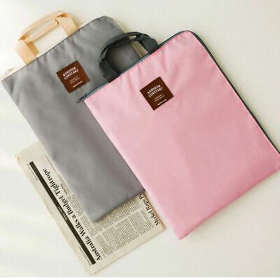 A4 Document File Organizer Bag Tote Holder Folder Ipad Bag Carrying Case Waterpr