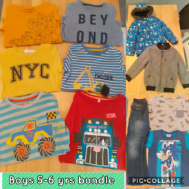 Boys 5-6 years clothes bundle
