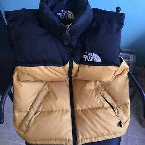North Face 700 fill down vest - new paid $238.00