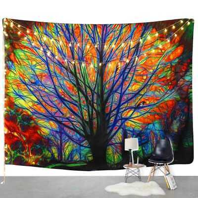 Large Bohemian Tapestry Wall Hanging Hippie Bedspread Throw Beach Towel Decor UK