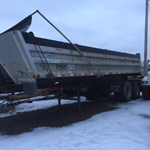 Tandem end dump for sale