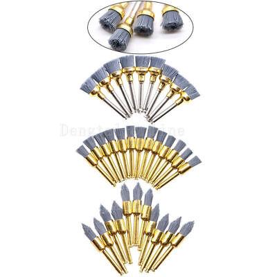 5 Pcs Dental Silicone Carbide Polishing Polisher Prophy Brushes Sharpfaltbowl