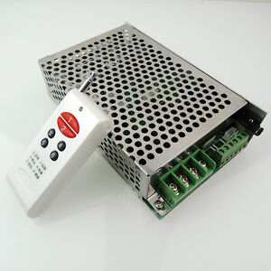 DC Motor Speed Controller Reversing Control 12-30V 30A Wireless Remote Control