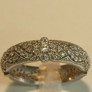 REDUCED PRICE Vintage Inspired 1 Carat Diamond Band