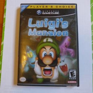 Luigis Mansion Gamecube