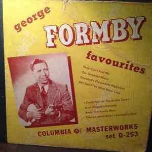 George Formby 78 rpm records Windsor Region Ontario image 1