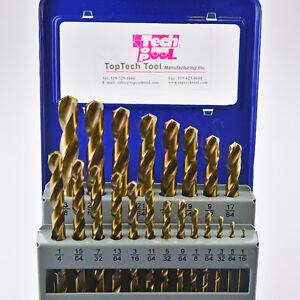 "21pcs M35 Cobalt Jobber drill Sets, Fraction 1/16""-3/8"" Kitchener / Waterloo Kitchener Area image 1"