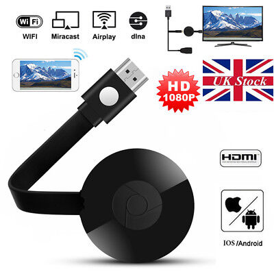 Real Full 1080P Chromecast Digital HD Media Streamer 2nd Generation For Google