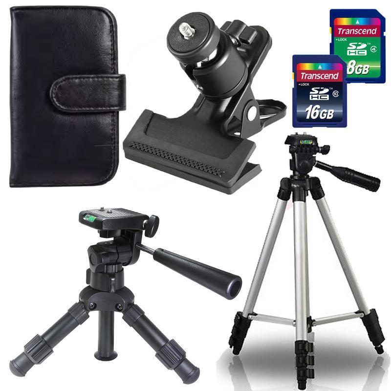 Ultimate Camera Tripod Accessory Kit for Canon and Nikon DSLR Cameras