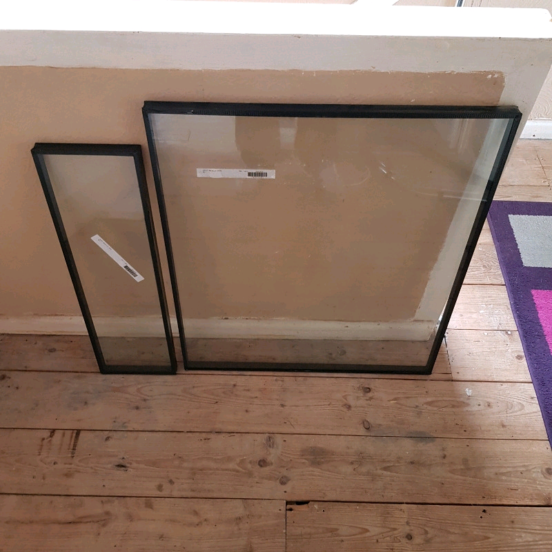 2 Pieces Of Double Glazing Glass Only