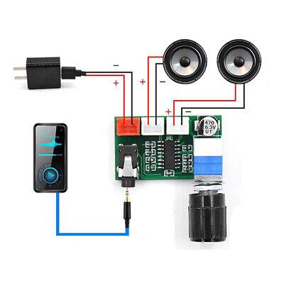 Professional Digital Amplifier Board Module PAM8403  Amplifier Chip DC 5V Professional Digital Amplifier