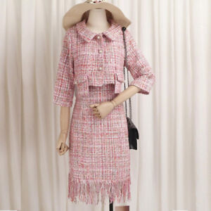 Looking for a Pink Tweed Skirt Suit