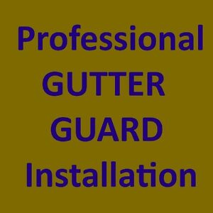 PRO Gutter Guard installation from $3/ft in Mississauga