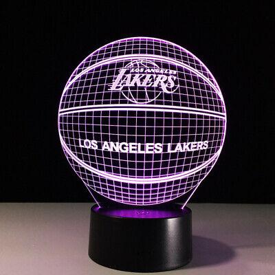 Los Angeles Lakers Lebron James Rajon Rondo Kyle Kuzma LED Lamp NBA Playoffs