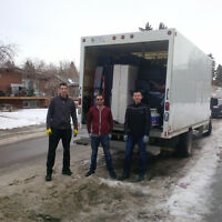 Calgary Great Movers!! only $75/h for 2 Guys and a Truck