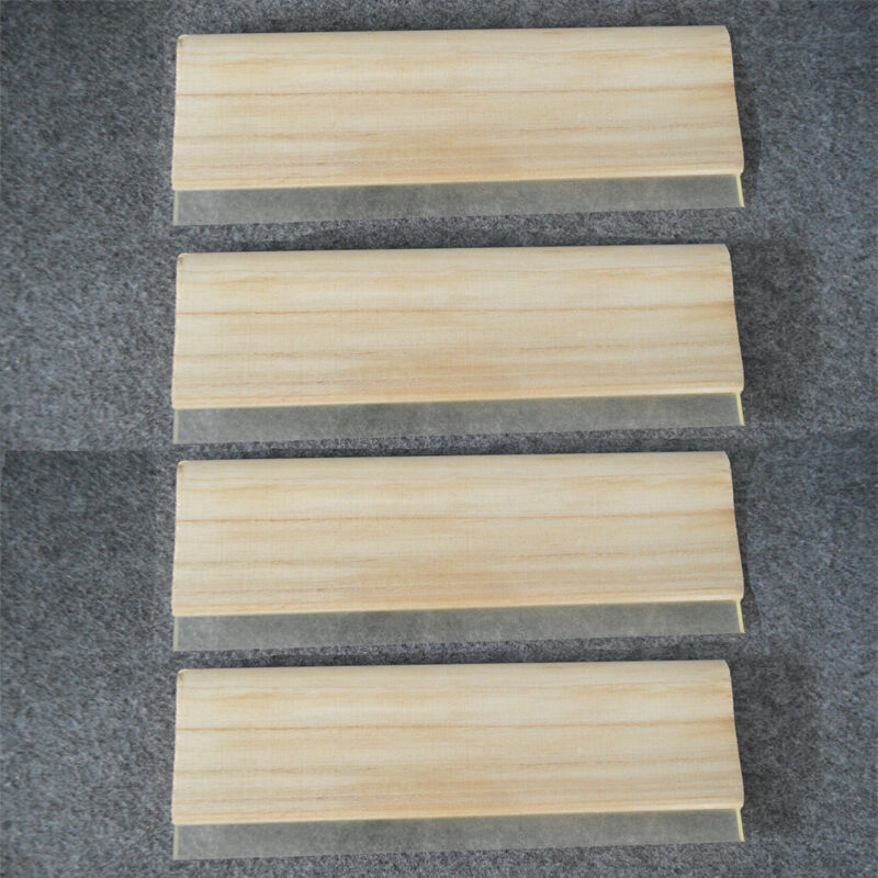 "4 pcs Screen Printing Wood Squeegee13"" /33cm Water Squeegee 65 Durometer"