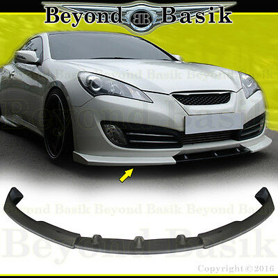 2012 Genesis Coupe - For 2010 2011 2012 Hyundai Genesis Coupe 2DR NEFD Style Aero Lip FRONT Body Kit