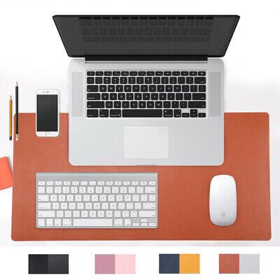 Multifunctional Office Desk Pad 31.5 X 15.7 Ultra Thin Waterproof Leather Pad