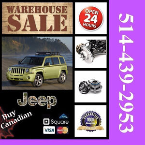 Jeep Patriot ► Bearings, Calipers • Roulements, Étriers