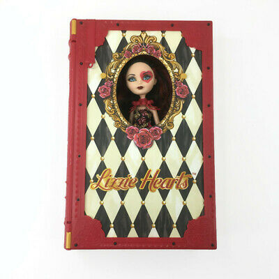 Ever After High Lizzie Hearts Spring Unsprung Book Playset Doll Fashion Toy