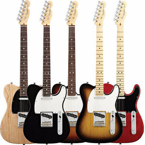 Final Blowout on all In-Stock Fender Am Standard Telecasters