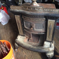 Our Franklin Parlour Stove and all fittings and accessories
