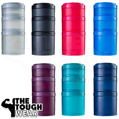 Blender Bottle - ProStak Expansion Cup - 7 Different Colors - More is
