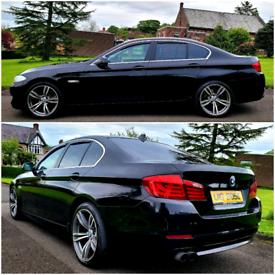BMW 520D F10 STUNNING CAR .. f30 320d passat a4 a6 audi golf Mercedes