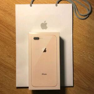 Iphone 8 PLUS GOLD 64 GB! BRAND NEW IN BOX! WARRENTY