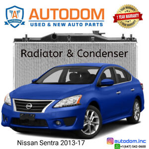 New Condenser and Radiator Nissan Sentra 2013-17
