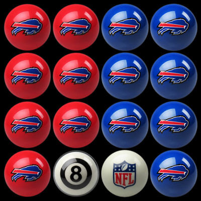 Buffalo Bills Pool Ball Billiard Set FREE SHIPPING!