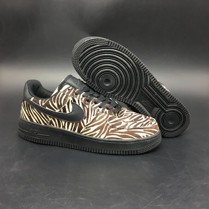 huge discount 5e28e a1373 ... free shipping nike air force 1 horse hair zebra print all sizes  available free uk delivery