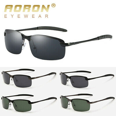 Polarized Mens Sunglasses Pilot Outdoor Driving Fishing Eyewear Sport Best (Best Mens Eyewear)