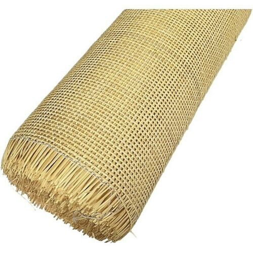 Natural Indonesian Real Rattan Wicker Cane Webbing Furniture Chair Table Ceiling