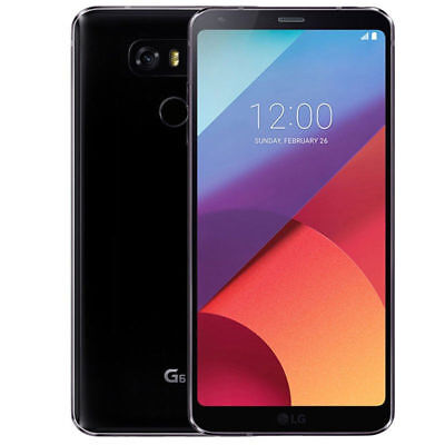 "Unlocked LG G6 (Latest 5.7"") H871 32GB 4G LTE Astro Black (AT&T T-Mobile) Phone"