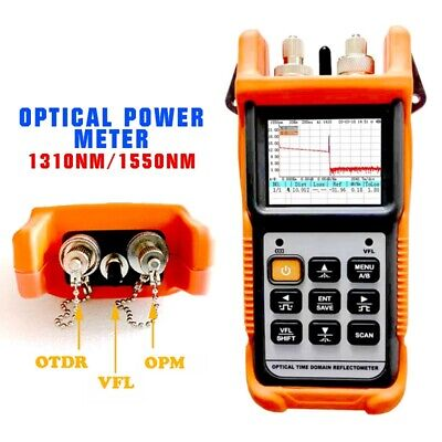 Lcd Otdr Optical Time Domain Reflectometer Optical Power Meter 1310nm1550nm