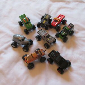 MCDONALDS MONSTER JAM HOT WHEELS TRUCKS CAMION JOUET set complet