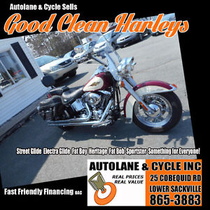 2007 Harley Davidson Heritage Softail CLEANEST IN CANADA!
