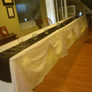 Wedding or Event Table Clothes