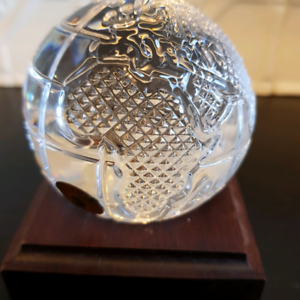 Waterford Crystal Globe. Embleton Bayswater Area Preview