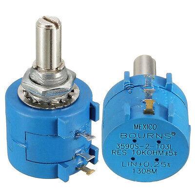 3590s-2-103l 10k Ohm Bourns Rotary Wirewound Precision Potentiometer Bs