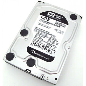 WD Black Hard Drive HDD 1TB