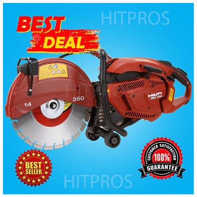 Hilti Dsh 700 14 Gas Cut Off Saw Brand New Free 3 Blades  Fast Shipping