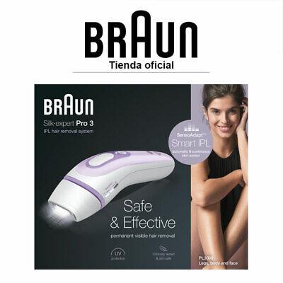 Braun Silk-expert 3 IPL BD 3000 Depiladora de Luz Pulsada Depilación Permanente