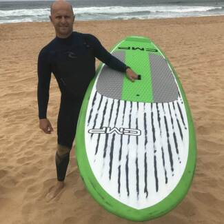 Brushed Carbon WAVE SUP Stand up Paddle Board 8'2 9'2