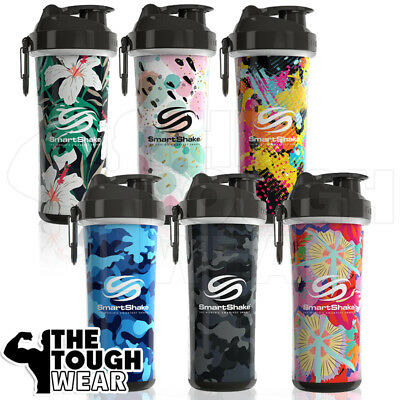 (SmartShake DOUBLE WALL Series - 6 colors - 25oz Smart Shaker Bottle Cup)