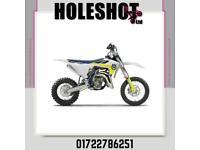 HUSQVARNA TC 65 2022 BRAND NEW MOTOCROSS BIKE UK BIKE