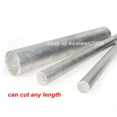 ALUMINUM 6061 Round Rod D5-200mm Any Length Solid Lathe Bar Cutting Stock (Round Metal Stock)